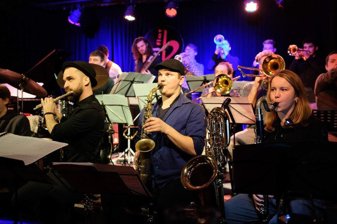 Space Big Band @ Blackbird Studio Berlin